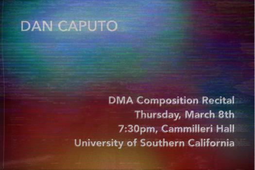 DMA Recital Poster