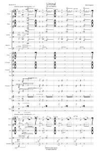 Liminal - Score